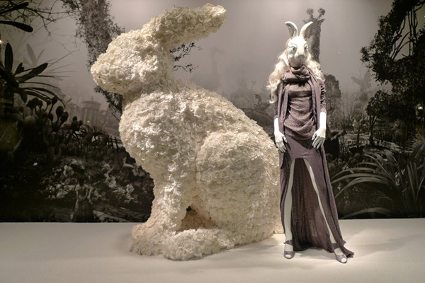 Alice In Wonderland at Printemps Haider Ackermann