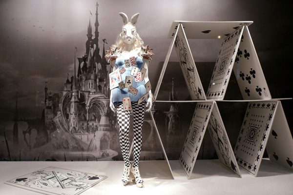 Alice In Wonderland at Printemps Manish Arora
