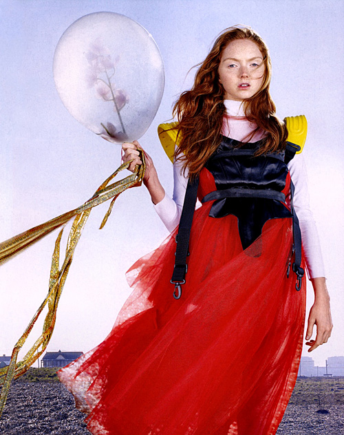 Lily Cole nick knight