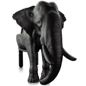 王樣的座椅 Elephant chair by Maximo Riera