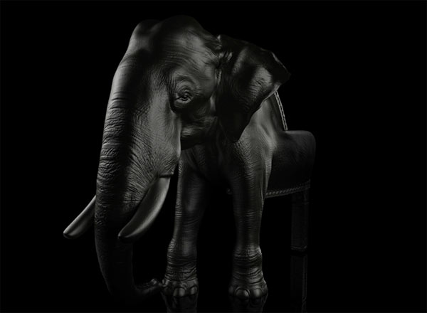 Elephant Chair 4