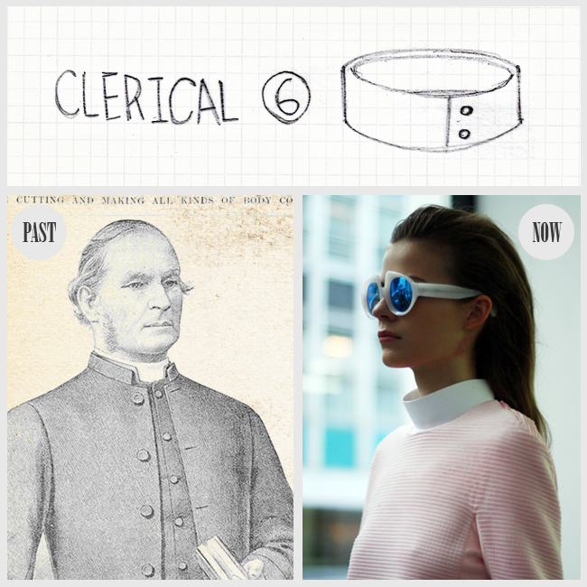 6CLERICAL collar