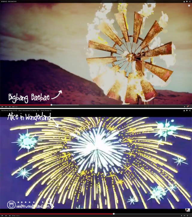 Under Wonderland bigbang bae alice firework a