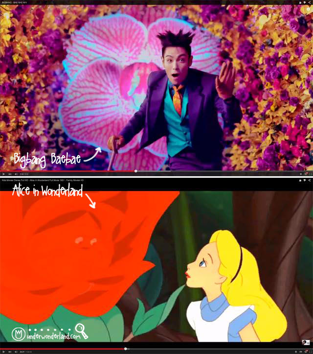 Under Wonderland bigbang bae alice hugeflower a